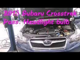 2013 subaru crosstrek headlight bulb