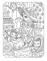 Marjorie Sarnats Pampered Pets Cats And Hats Pet CatsCat TherapyColoring BookAdult