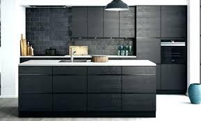 meuble de cuisine noir cuisine noir mat ikea aussi cuisine best awesome cuisine mat