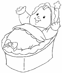 Baby Doll Coloring Pages