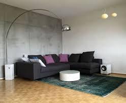 sicht betonoptik und marmorputz im wohnzimmer unseren