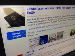 Google Case Raises Doubts About German News Copyright Law