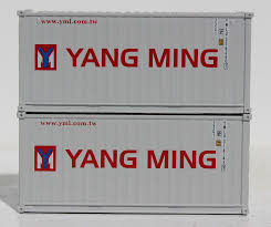 100 Shipping Container Model YANG MING 20 Std Height Containers With Magnetic System Corrugatedside JTC205339