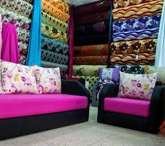 couleurs tendances de salon marocain galerie avec tissu pour salon