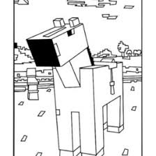 Best Minecraft Horse Coloring Pages Free Printable