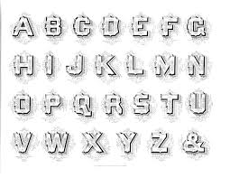 Rustic Alphabet German Text Old English Marking Steel Pen Capitals Additional Drawings Fists Afish A Lion Deer Horse Two Horses
