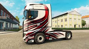 100 Truck Design MT Skin For Scania R700 Truck For Euro Simulator 2