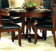 Round Table With Leaf Dining Tables Leaves Inspiring Extension Hardware