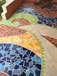Mayan Beach Garden The Mosaic Terrace Of Our Room