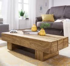 finebuy couchtisch massiv holz 120cm breit design wohnzimmer tisch dunkel braun landhaus stil beistelltisch