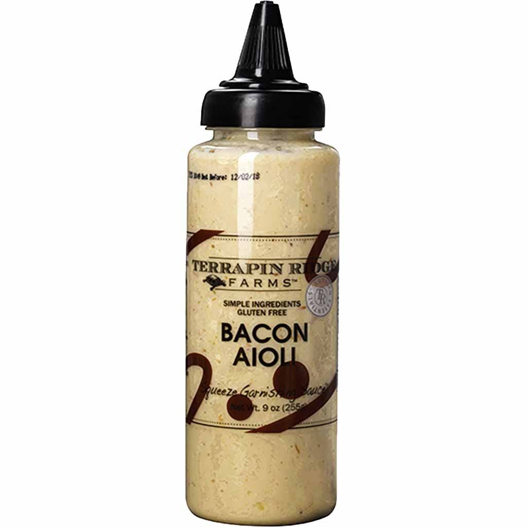 Terrapin Ridge Farms Garnishing Sauce, Squeeze, Bacon Aioli - 9 oz