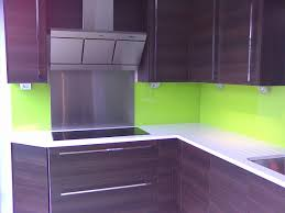 Coloured Glass In Pantone LIME GREEN Is Currently Almost As Popular Black Lime Green Splashbacks Add A Big Statement To Any Kitchen