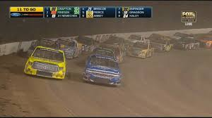 100 Nascar Truck Race Results NASCAR Camping World Series 2017 Eldora Dirt Derby Restart