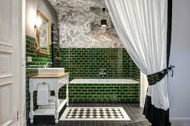 75 badezimmer mit grünen fliesen ideen bilder april