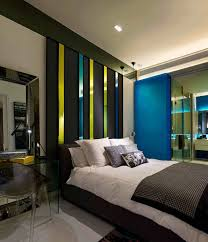 Masculine Bedroom Furniture by Masculine Bedroom Art White Striped Bed Ruffle Black Leather Arm