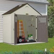 Suncast Garden Shed Taupe by Amazon Com Suncast Bms8400d Tremont Resin Storage Shed 4 U0027 3 4