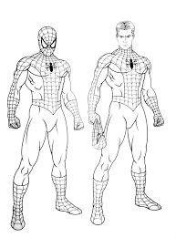 Dessiner Spiderman Beau Coloriage De Coloring Pages For Boys