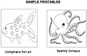 Preschool Ocean Printable Activities For Kids