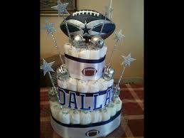 Dallas Cowboys Baby Room Ideas by Dallas Cowboy Diaper Cake My Creations Pinterest Dallas