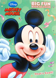Mickey Mouse Coloring Bookthats Swell By Dalmation Press 899