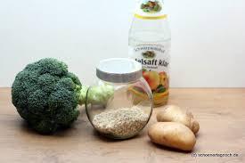 babybrei selbst kochen rezept für brokkoli hafer brei