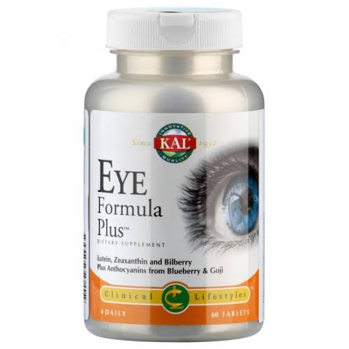 KAL Eye Formula Plus Dietary Supplement Tablets - 60ct