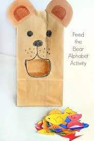 A Bear Theme Alphabet Activity For Preschool Letter Learning