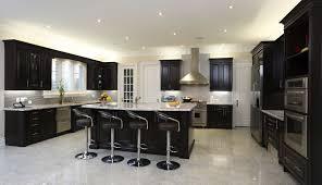 Backsplash Ideas For Dark Cabinets by Great Painted Kitchen Cabinets Brick Subway Tile Backsplash Ideas