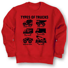 Types Of Trucks Fire Monster Dump Truck Construction Toddler ...