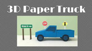 3D Paper Pickup Project - YouTube 1994 Kenworth W900l At Truckpapercom Semi Trucks Pinterest 3 Men And A Truck Paper Decorations In Spanish Model Of An Old Stock Vector Illustration Of Model Bobs Burgers Food Toy By Thisanton On Deviantart 25 Images 4 Wheel Template Citizenmodcom Truck Paper Dump Fashiellanstanceco Truckdomeus Truckpaper Stoops Freightliner Used Struck Mechanic Trucks Autos Cout Bobsburgers Monster Dan How To Make Diy