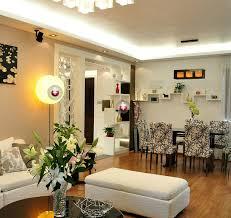 modern minimalist living dining room interior lighting design