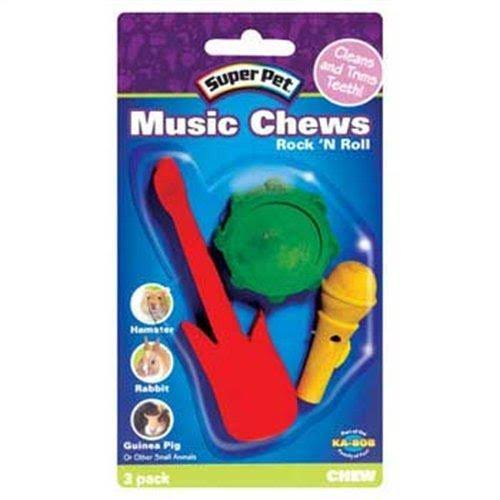 Super Pet Rock 'N Roll Music Pet Chews - Pack of 3
