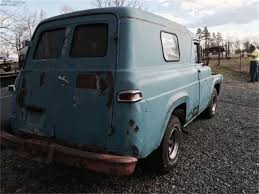 100 Ford Panel Truck For Sale 1959 For ClassicCarscom CC1114838