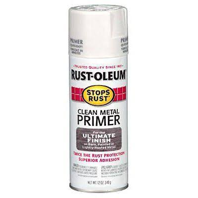 Rust-Oleum Stops Rust Clean Metal Primer Spray - 12 oz