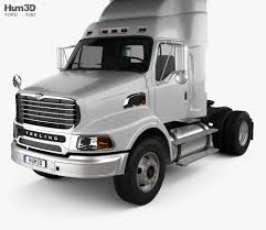 100 Sterling Truck Ford A9500 Tractor 2006 3D Model Vehicles On Hum3D