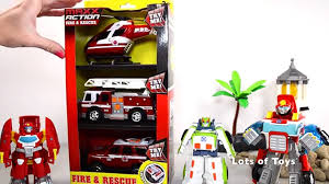 100 Rescue Bots Fire Truck TRANSFORMERS RESCUE BOTS MAXX ACTION FIRE RESCUE FIRE TRUCK HELICOPTER POLICE SUV TOYS REVIEW