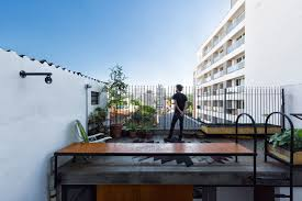 100 Apartment In Sao Paulo A Small So Gets An Annex Addition Terace