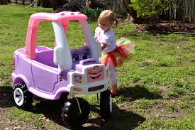 100 Little Tikes Princess Cozy Truck Fire Ride On Toy S S