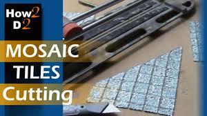 mosaic tiles cutting how to cut mosaic tile