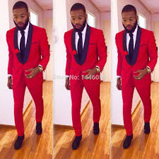 Buy Groom Outfit Red And Get Free Shipping On AliExpress