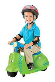 Green Toddler Electric Motorcycle