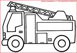 Coloriage Ambulance De Pompier Camion De Pompier Colorier Coloring