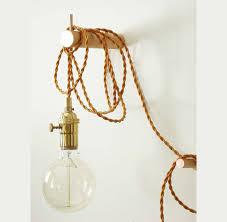 brass pendant light wall lighting edison bulb by colorsoflovelight