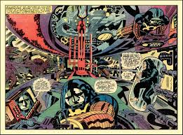 My Big Bad Jack Kirby Page Peter Hoflich