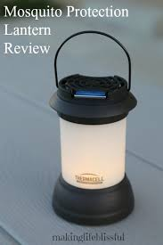 Thermacell Mosquito Repellent Outdoor Led Lantern by How To Use A Thermacell Mosquito Protection Lantern Making Life