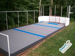 backyard hockey rink contemporary home philadelphia by