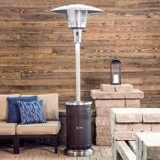 Propane Heat Lamp Wont Light by Shop Garden Treasures 47 000 Btu Mocha Steel Floorstanding Liquid