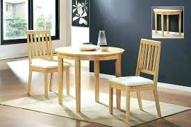 Kitchen Tables For Small Spaces Drop Leaf Table Round