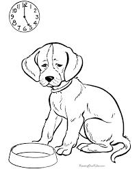 Honkingdonkeycom Sweet Design Dog Coloring Pages To Print