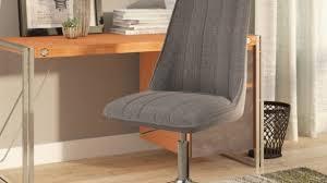 Wayfair Swivel Desk Chair by Three Posts Eckard Desk Chair Reviews Wayfair Throughout Linen